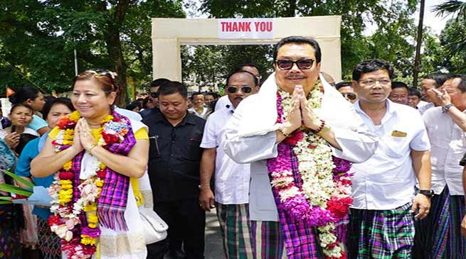 New Team Arunachal will work for the progress of state- Chowna Mein