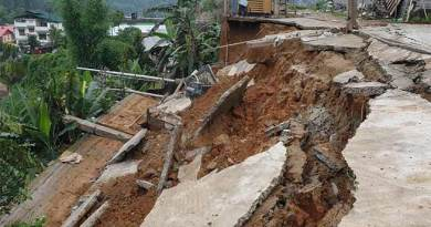 Itanagar: Heavy rains trigger landslides in capital complex