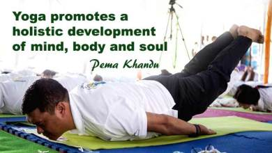 Popularity of Yoga Continues to Grow Globally- Pema Khandu