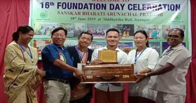 Sanskar Bharati Arunachal Pradesh, celebrated its 16th Foundation Day