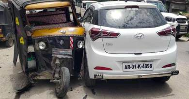 Itanagar: 3 injured in Tempo-Trekker accident at Vivek Vihar