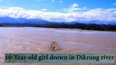 Arunachal: 10-Year-old girl drown in Dikrong river