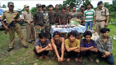 Photo of Arunachal: 5, including 2 Myanmar nationals arrested with arms and wild animals meat