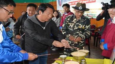 Tsering Tashi inaugurates 6th Late Dorjee Khandu memorial district level badminton tournament