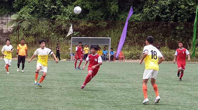 6th Dera Natung sub-junior boys state level football tournament begins