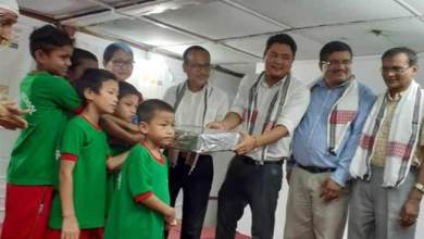 Photo of Arunachal: Bankers celebrate foundation day with OWA inmates
