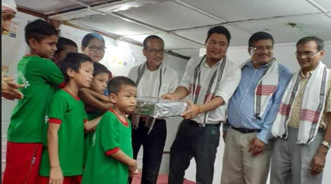 Arunachal: Bankers celebrate foundation day with OWA inmates