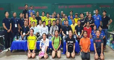 Itanagar: Capital Complex Inter-Club Badminton Championship-2019 begins