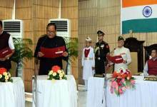 Arunachal: Governor administers oath to Gamli Padu and Leki Phuntso