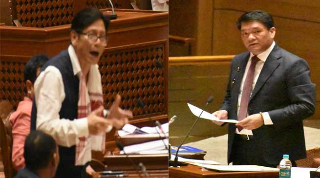 Arunachal Budget Session- TAH issue raised in Ziro Hour discussion