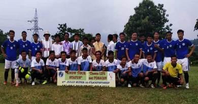 Itanagar:Quarter - Final of 2nd Jully Super 16 Football Championship 2019