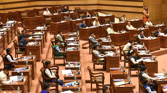 Arunachal Budget Session 2nd day: Assembly passes five bills