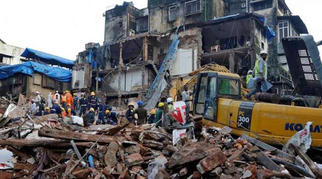 Mumbai: Building collapsed in Dongri,2 dead, 40 feared trapped