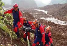 Landslide in China: 15 killed, over 40 still missing