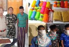 Photo of 4 Apprehended with Contraband substances in Arunachal and Assam