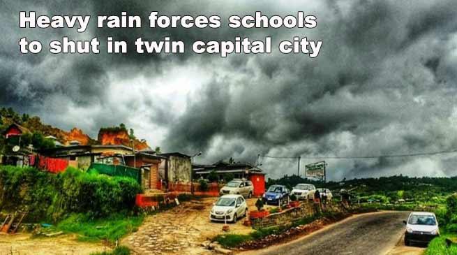 Itanagar: Heavy rains, landslides force closure of schools in twin capital city