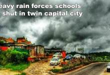 Itanagar: Heavy rains, landslides force closure of schools in twin capital city