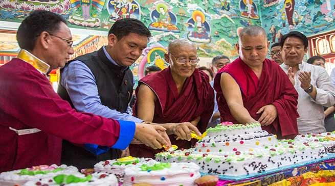 Khandu attends Dalai Lama Birth Day celebration at Buddhist Culture Centre