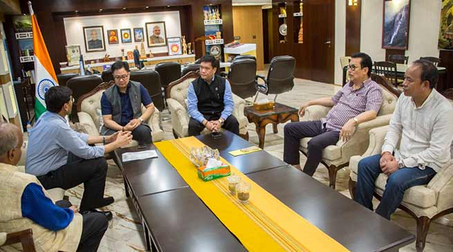 Arunachal: 3 centers of excellence in Sports will be established in state- Rijiju