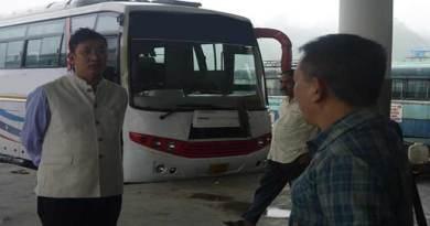 Arunachal:Nalo makes surprise inspection of helipad, ISBT