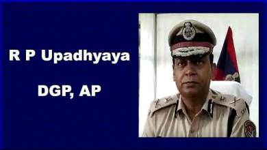 Itanagar- RP Upadhyaya takes charge as DGP Arunachal Pradesh