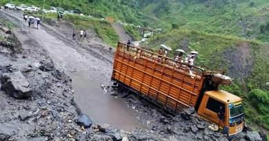Arunachal rain: Heavy downpour, water logging bring capital complex to a halt