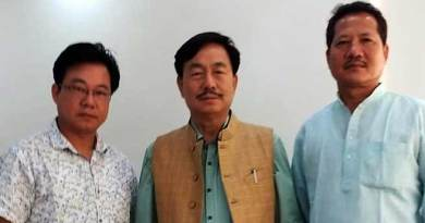 China constructed two Km of road inside Indian territory in Arunachal Pradesh- NPP State President