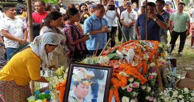 Arunachal: Yab Sera led to rest, thousand take part