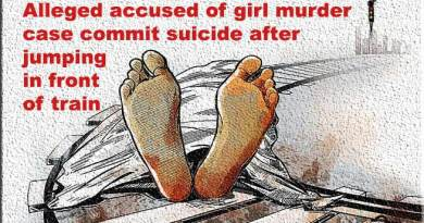 Arunachal: Alleged accused of girl murder case commit suicide after jumping in front of train