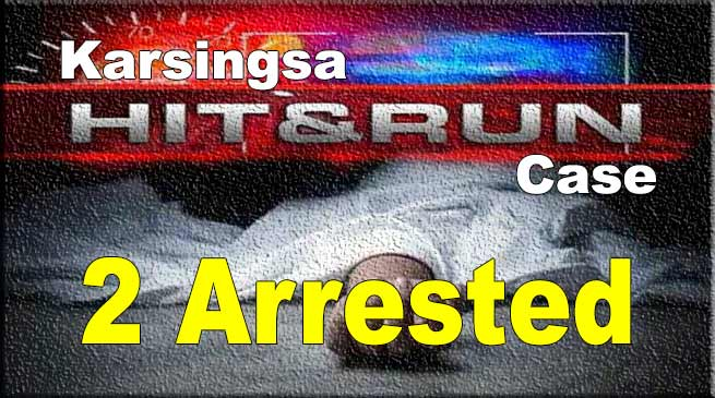 Karsingsa hit-and-Run case: police arrested 2 IRBn person