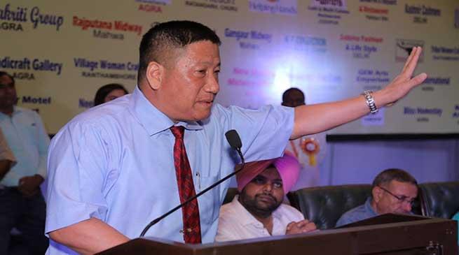 Transporters and Driver Unions of Delhi should include representative from NE states- Robin Hibu
