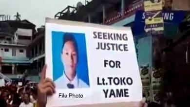 Photo of Toko Yame murder case: ACS urges CM, HM for early justice