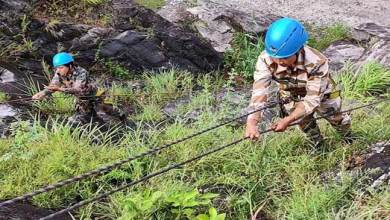 Photo of Women Team of Indian Army Conducts Patrolling on Arunachal's Mountain