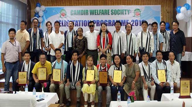 Itanagar: Camdir Welfare Society felicitates academic toppers