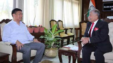 Photo of Arunachal: Chief Minister calls on the Governor