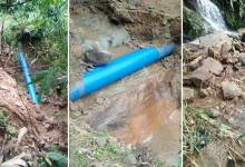 Photo of  water supply affected in Itanagar as pipeline damaged due to landslide