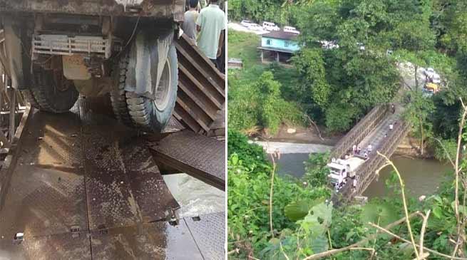 Arunachal: Heavy vehicles on Hoj road diverted