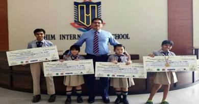 Arunachal: HIM International School Bags 2 Gold, 1 Silver and 1 Bronze Medal in TT championship