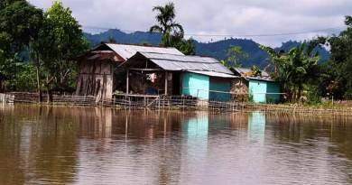 Arunachal: Hollongi reeling under flood, 15 houses submerged