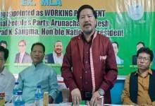 Arunachal: I will extend all my support to NPP- Pani Taram