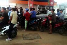 Photo of Itanagar: Petrol pumps see long queue after rumour of scarcity