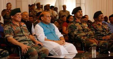 Rajnath Singh attends International Army Scout Masters Competition 2019 held at Jaisalmer