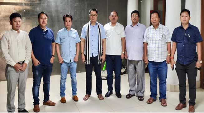 """""""youths from Arunachal will represent India in the next Olympic games""""- Rijiju's dream"""