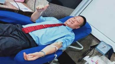 Photo of 204 donate blood in memory of freedom fighters of NE