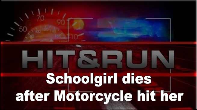 Itanagar: Schoolgirl dies after Motorcycle hit her
