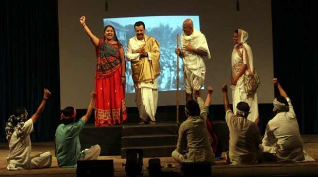 Arunachal: Stage Show on Sardar Patel