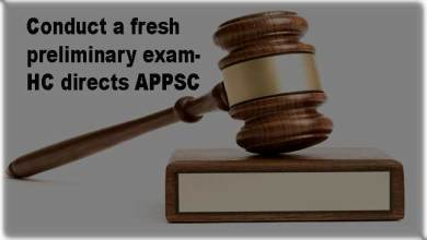 Photo of Conduct a fresh preliminary examination- Court directs APPSC
