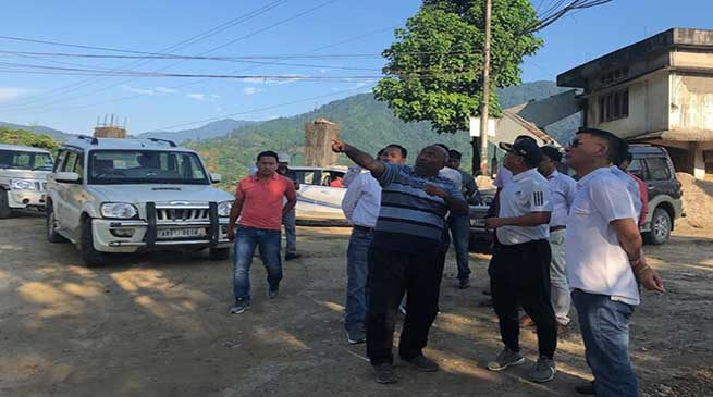 Arunachal: CMO Teams inspects Itanagar-Naharlagun Highway