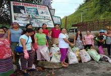 Photo of Arunachalee women doing Noble job, cleaning their village every fortnight
