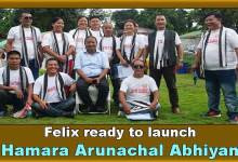 Photo of Arunachal: Felix met Student leaders in relation to Hamara Arunachal Abhiyan